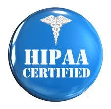 hipaa certified